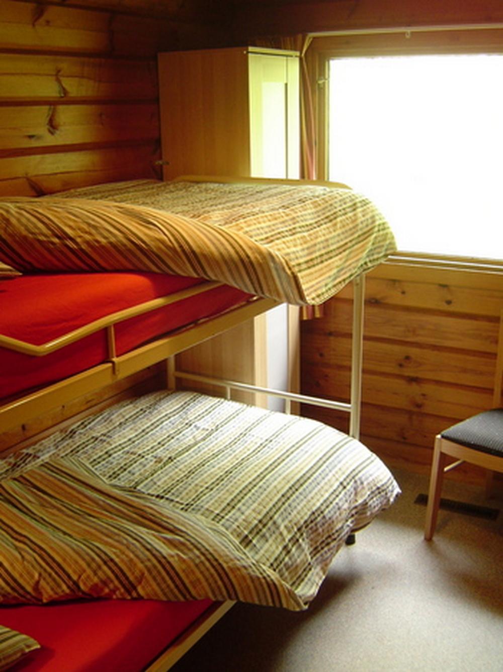 Slaapkamer-6-persoons-Finse-bungalow-Bronzen-Emmer
